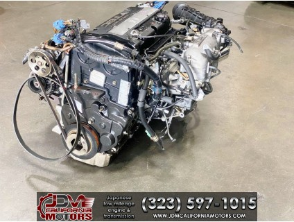 JDM HONDA PRELUDE H22A ENGINE  1998 WITH 5 SPEED MANUAL TRANSMISSION , ECU ,WIRE , SHIFTER CABLE