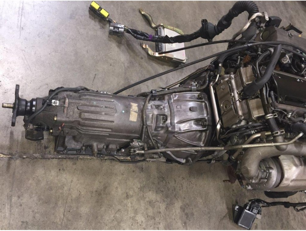 TOYOTA ARISTO SUPRA SC300 TWIN TURBO VVTI ENGINE TRANS WIRING ECU JDM 2JZGTE