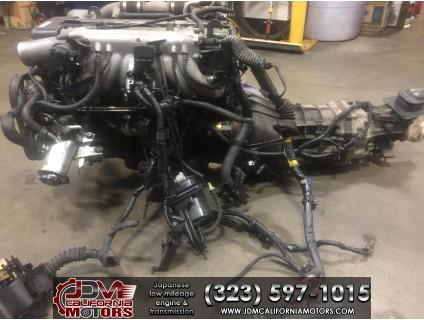 JDM TOYOTA 1JZ-GTE NON VVTI TWIN TURBO MOTOR R154 TRANSMISSION
