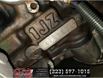 JDM TOYOTA 1JZ-GTE VVTi 2.5L ECTS TURBO MOTOR WITH A/T ( REAR SUMP OIL PAN)