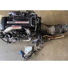 JDM Nissan Skyline GTR R32 RB26DETT motor with awd 5 speed gearbox *stock #rb32-1*