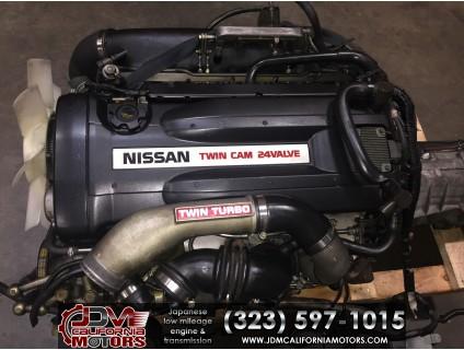 JDM NISSAN SKYLINE GTR-R32 Rb26DETT MOTOR AWD 5 SPEED TRANSMISSION