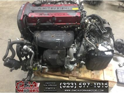 JDM 01-02 MITSUBISHI LANCER EVO VII 2.0L 4G63T MOTOR WITH A/T ECU