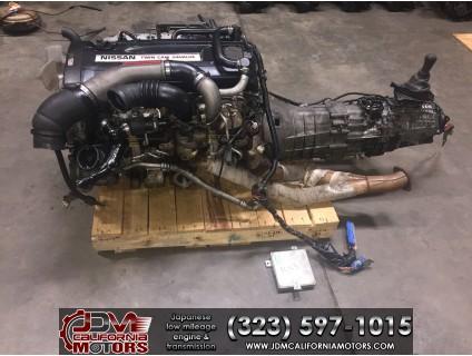 JDM NISSAN SKYLINE GTR-R33 R26DETT MOTOR 5 SPEED AWD TRANSMISSION