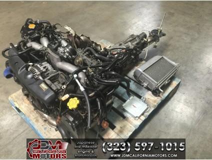 JDM 02-05 SUBARU WRX EJ205 2.0L TURBO ENGINE M/T TY754VBBAA AND ECU