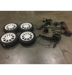 JDM INTEGRA TYPER ITR DC2 5LUGS BRAKES CONVERSION PACKAGE