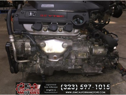 JDM ACURA TL V6 3.2L VTEC 2001-2003 J32A TYPE S ENGINE & TRANSMISSION & ECU