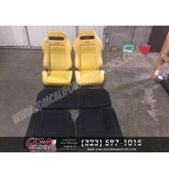 JDM SR3 YELLOW RECARO SEATS DC2 ITR ***sold out ***