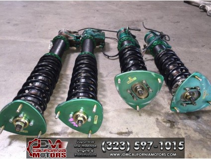 JDM ADJUSTABLE TEIN COILOVERS FOR SUBARU STI VER8