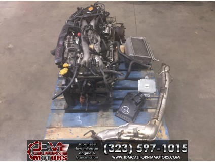 JDM 02-05 SUBARU WRX EJ205 2.0L TURBO ENGINE