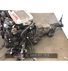 JDM MAZDA 13B ROTARY , TWIN TURBO RX7 FD3 COMPLETE MOTOR AND AUTOMATIC TRANSMISSION