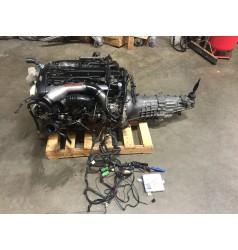 JDM NISSAN SKYLINE GTR R32 RB26DETT MOTOR WITH RB25 2WD TRANSMISSION MINES ECU WIRING