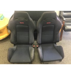 JDM ACURA INTEGRA ITR DC2 BLACK RECARO SEATS