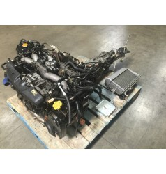JDM 02-05 SUBARU WRX EJ205 2.0L TURBO ENGINE M/T TY754VBBAA AND ECU