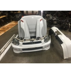 JDM 2002-2003 SUBARU WRX STI V7 WHITE FRONT END
