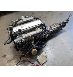 JDM TOYOTA 1JZ-GTE VVTI ETCS MOTOR WITH R154 TRANSMISSION ECU AND HARNESS