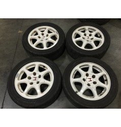 JDM CIVIC TYPE R ENKEI WHEEL AND TIRES