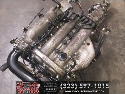 JDM MAZDA MIATA B6 90-93 1.6L ENGINE WITH 5 SPEED TRANSMISSION & ECU