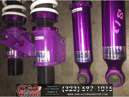 JDM SUPER STREET COILOVERS MADE FOR NISSAN SILVIA S13