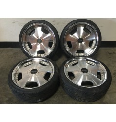 JDM WORK EURO LINE WHEEL WITH TIRES