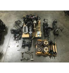 JDM SUBARU GC8 STI EJ207 MOTOR TRANSMISSION TY754VB1CA ECU MODEL TYPE-R V5